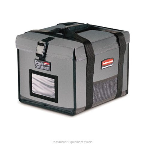 Rubbermaid FG9F1500CGRAY Food Carrier, Insulated Plastic