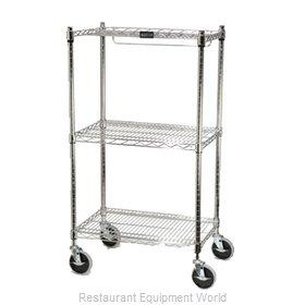Rubbermaid FG9G5900CHRM Cart, Stem Caster