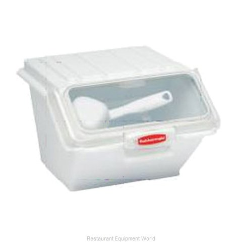 Rubbermaid FG9G6000WHT Ingredient Bin (Magnified)
