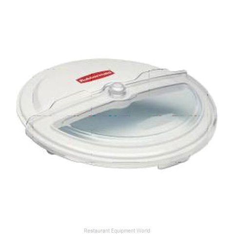 Rubbermaid FG9G7800WHT Trash Receptacle Lid / Top