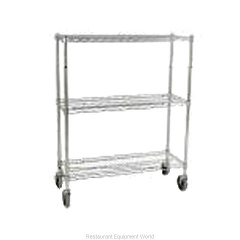 Rubbermaid FG9G7900CHRM Shelving Unit, Wire