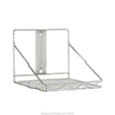 Rubbermaid FG9G8100CHRM Storage Rack (Magnified)