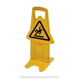 Rubbermaid FG9S0925YEL Sign, Wet Floor