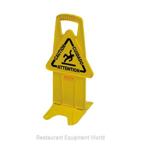 Rubbermaid FG9S09DPYEL Sign, Floor (Housekeeping)