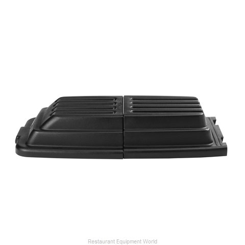 Rubbermaid FG9T2200BLA Truck Lid (Magnified)