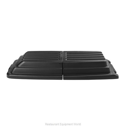 Rubbermaid FG9T2300BLA Truck Lid (Magnified)
