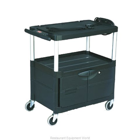 Rubbermaid FG9T3200BLA Utility Cart