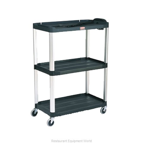 Rubbermaid FG9T3300BLA Utility Cart (Magnified)