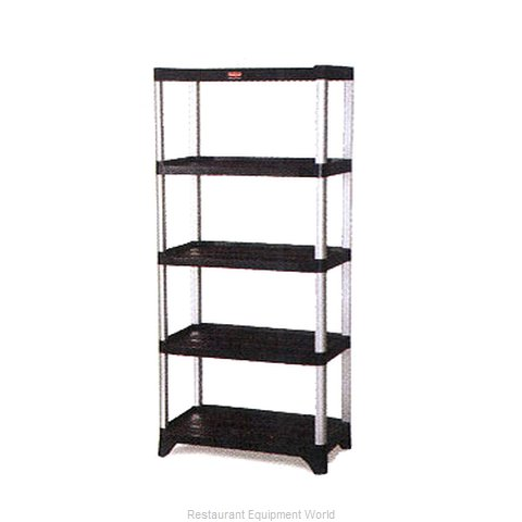 Rubbermaid FG9T3700BLA Shelving Unit Plastic