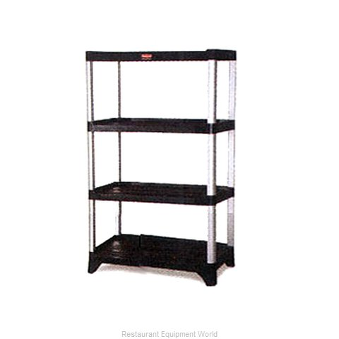 Rubbermaid FG9T3800BLA Shelving Unit Plastic