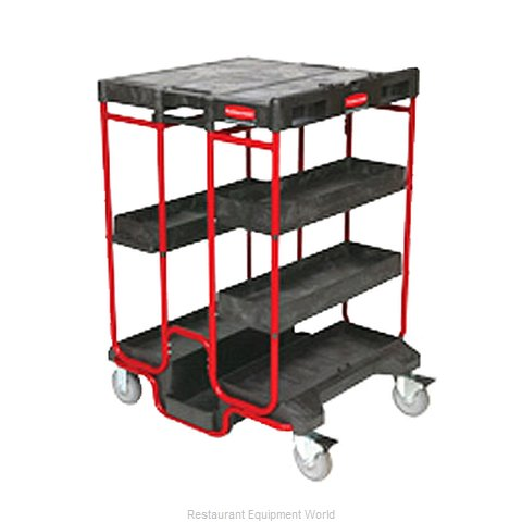 Rubbermaid FG9T5700BLA Cart, Ladder (Magnified)