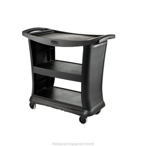 Rubbermaid FG9T6800BLA Cart, Dining Room Service / Display