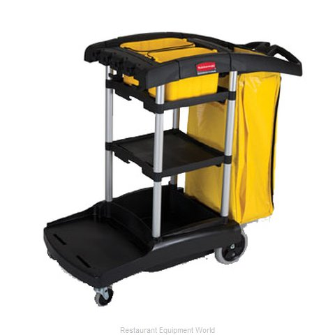 Rubbermaid FG9T7200BLA Cart Janitor (Magnified)