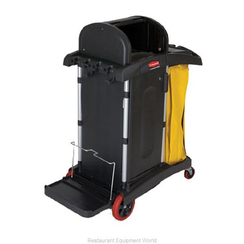 Rubbermaid FG9T7500BLA Cart, Housekeeping