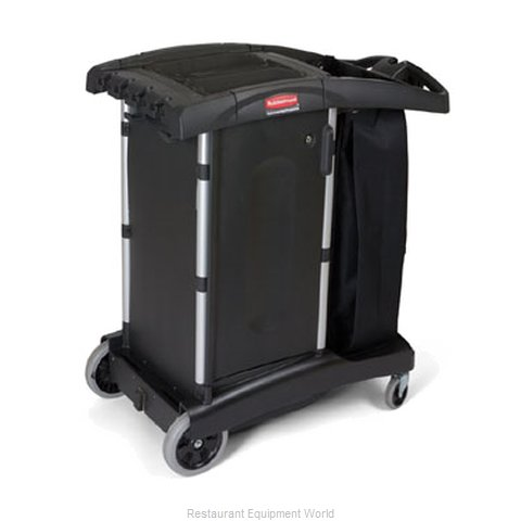 Rubbermaid FG9T7700BLA Cart, Housekeeping