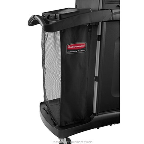 Rubbermaid FG9T9101BLA Laundry Housekeeping Cart Accessories