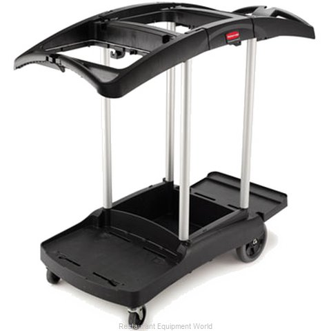 Rubbermaid FG9T9200BLA Cart, Housekeeping