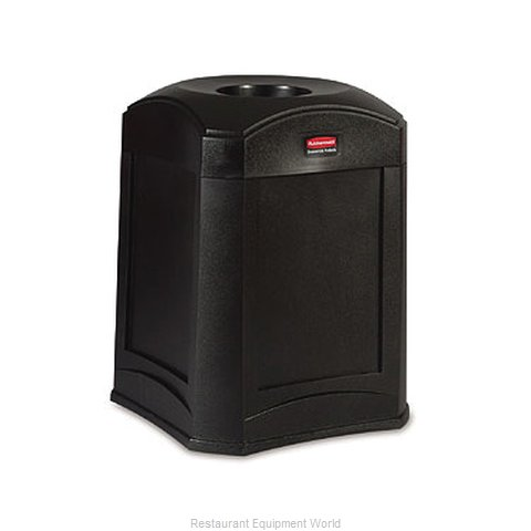 Rubbermaid FG9W0000BLA Waste Receptacle Outdoor
