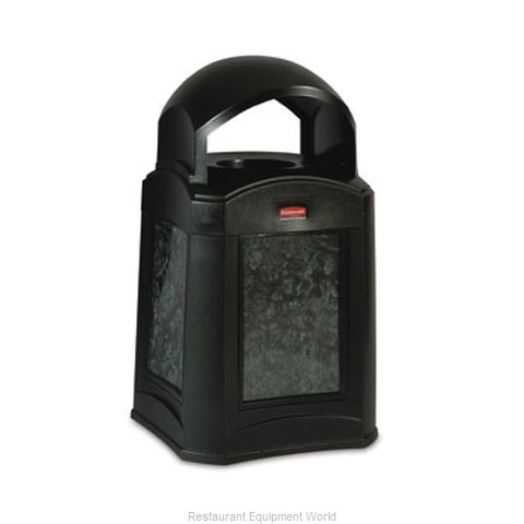 Rubbermaid FG9W0300BLA Waste Receptacle Outdoor