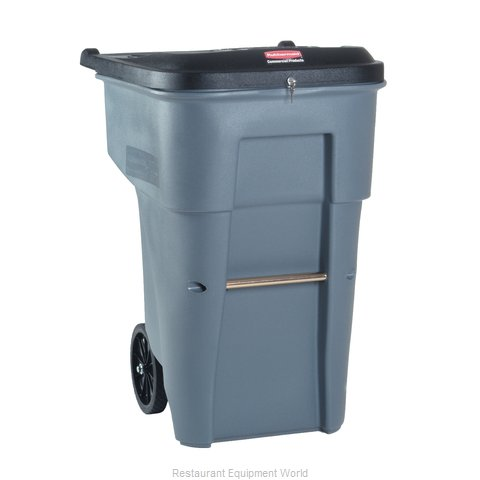Rubbermaid FG9W1188GRAY Trash Garbage Waste Container Mobile