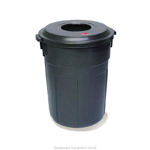 Rubbermaid FG9W1200BLA Waste Receptacle Outdoor