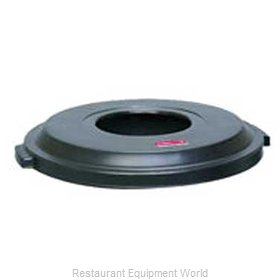 Rubbermaid FG9W1300BLA Cover, Garbage Waste Receptacle Can