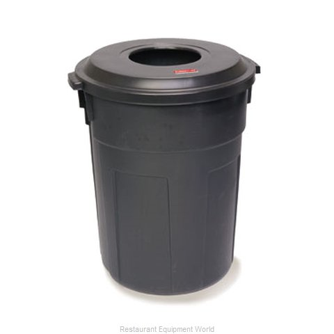 Rubbermaid FG9W1400BLA Cover Garbage Waste Receptacle Can