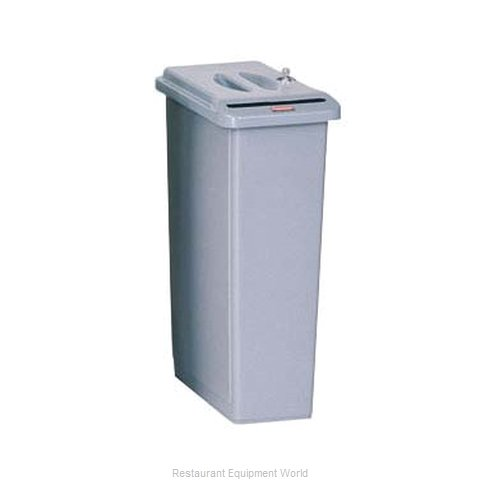 Rubbermaid FG9W1500LGRAY Trash Garbage Waste Container Stationary