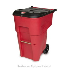 SpecialMade FG9W2000RED Rollout Medical Waste Container
