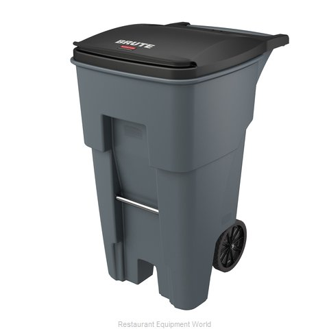 Rubbermaid FG9W2100GRAY Trash Garbage Waste Container Mobile