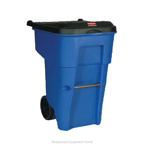 Rubbermaid FG9W2173BLUE Trash Garbage Waste Container Mobile