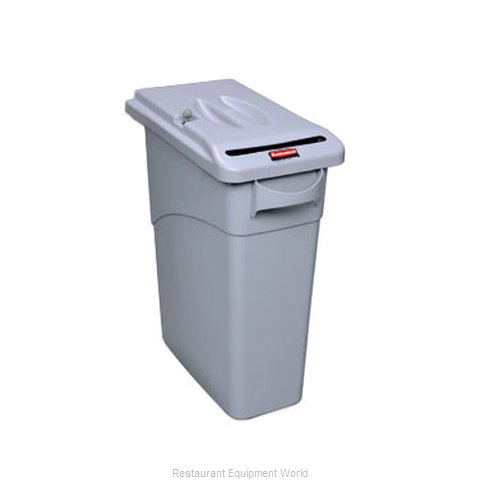 Rubbermaid FG9W2500LGRAY Trash Garbage Waste Container Stationary