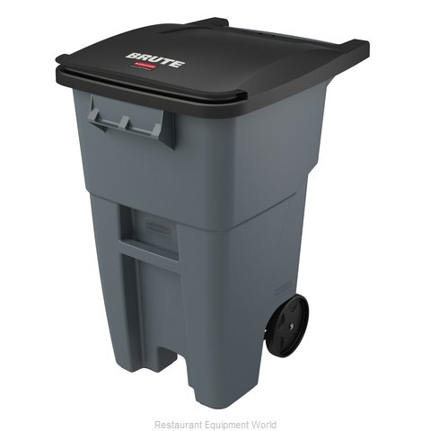 Rubbermaid FG9W2700GRAY Trash Garbage Waste Container Mobile