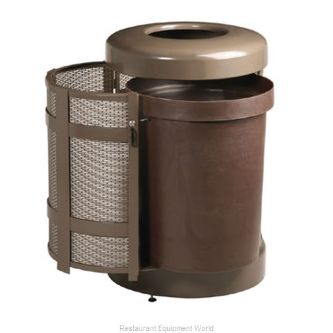 Rubbermaid FGA38TSDABZPL Waste Receptacle Outdoor