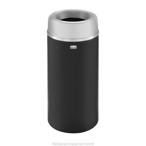 Rubbermaid FGAOT15SABKPL Trash Receptacle, Indoor