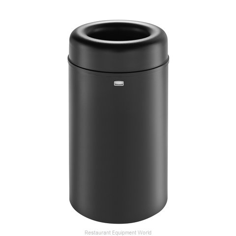Rubbermaid FGAOT30BKPL Trash Receptacle, Indoor