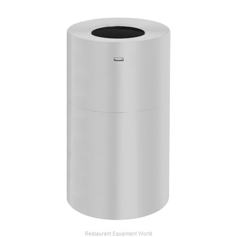 Rubbermaid FGAOT35SAPL Trash Receptacle, Indoor (Magnified)