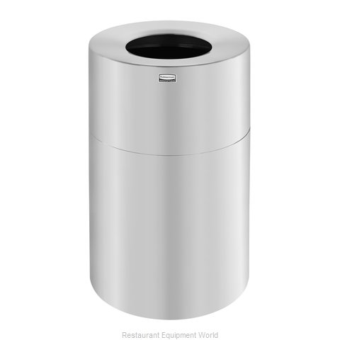 Rubbermaid FGAOT62SA Trash Garbage Waste Container Stationary