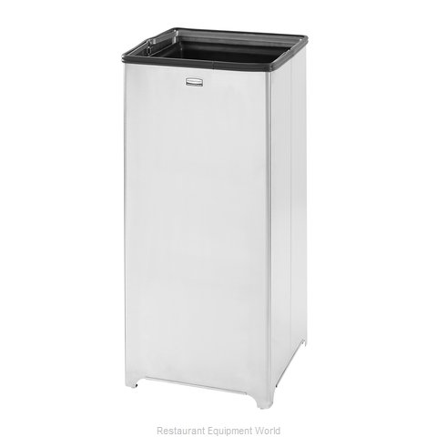 Rubbermaid FGB1424SSPL Trash Garbage Waste Container Stationary