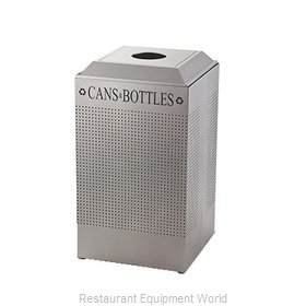 Rubbermaid FGDCR24CSM Recycling Receptacle / Container