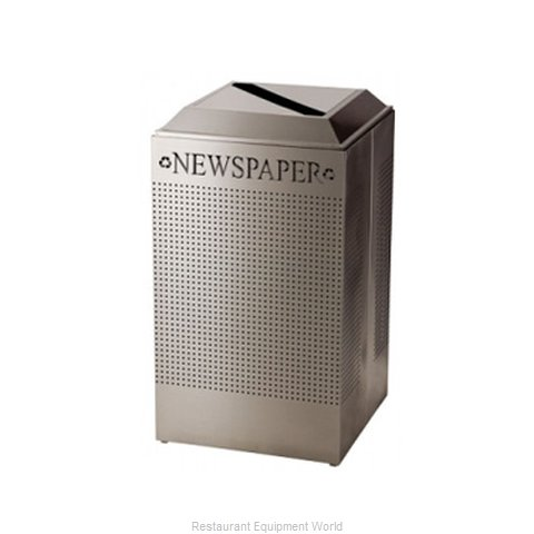 SpecialMade FGDCR24PSS Square Recycling Receptacle