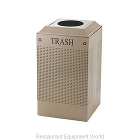 Rubbermaid FGDCR24TDP Recycling Receptacle / Container