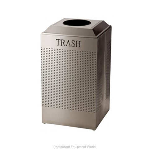 SpecialMade FGDCR24TSS Square Recycling Receptacle