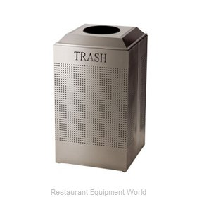 Rubbermaid FGDCR24TSS Recycling Receptacle / Container