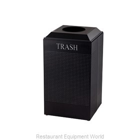 Rubbermaid FGDCR24TTBK Recycling Receptacle / Container