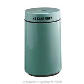 Rubbermaid FGFG1630CPLBK Waste Receptacle Recycle