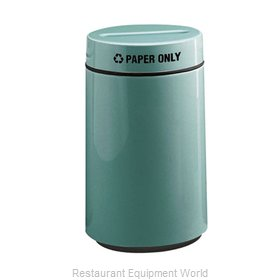 Rubbermaid FGFG1630PPLBGN Waste Receptacle Recycle