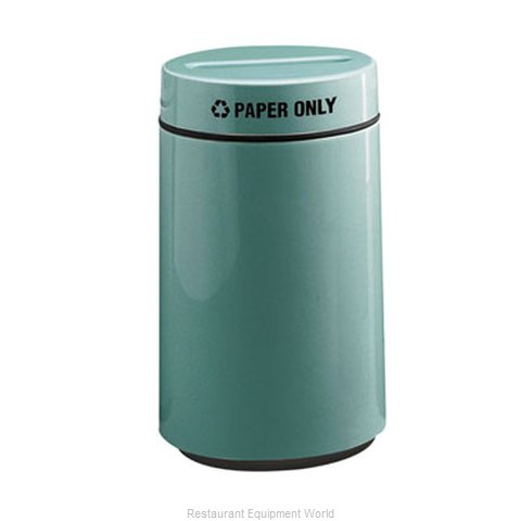Rubbermaid FGFG1630PPLMV Waste Receptacle Recycle