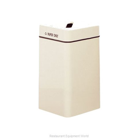 Rubbermaid FGFG1630SQPPLBK Waste Receptacle Recycle