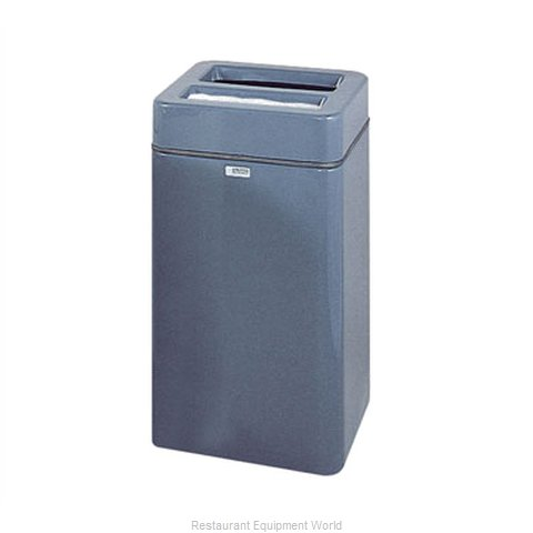 Rubbermaid FGFG1630SQSUTPLB Ash Tray Top Sand Urn Trash Can Base